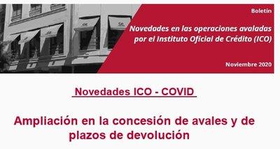 Boletín ICO-COVID