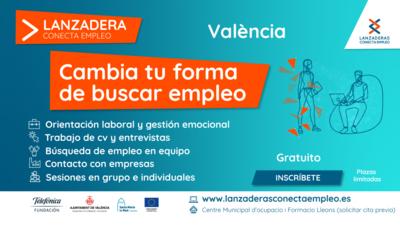 Lanzadera Conecta Empleo Valencia