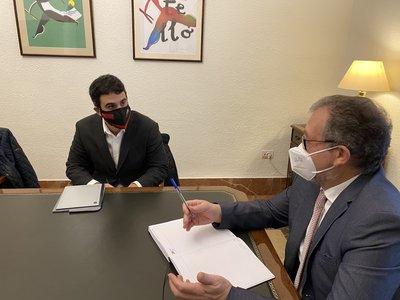 Diputación y CEEI Castellón renuevan su alianza para promover proyectos innovadores en el interior de la provincia