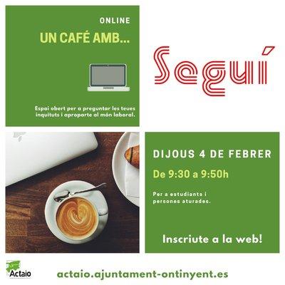 Un café con Industrias Seguí