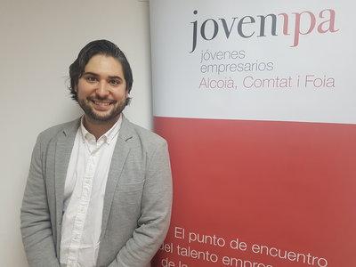 Javier Expósito, presidente de  Jovempa