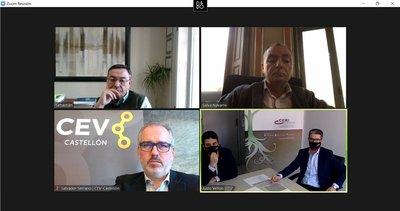 CEEI Castellón y CEV trabajarán conjuntamente para conectar a la industria consolidada y las startups