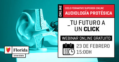 Webinar Ciclo Audiología Protésica - Online