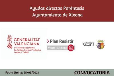 Ayudas Económicas Covid 19 - Ayuntamiento de Xixona