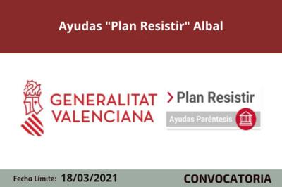 "Ayudas ""Plan Resistir"" en Albal"