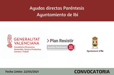 Ayudas Económicas Covid 19 - Ayuntamiento de Ibi