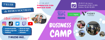 Taller RRSS + Business Camp