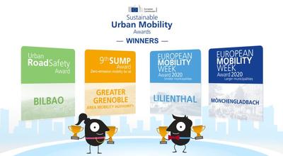 Bilbao, Grenoble, Lilienthal y Mönchengladbach ganan premios europeos a la movilidad sostenible