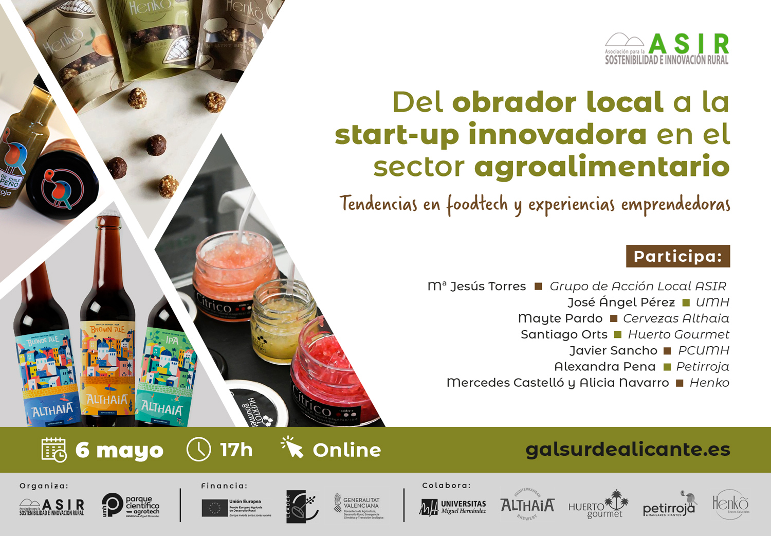 Del obrador local a la start-up innovadora en el sector agroalimentario