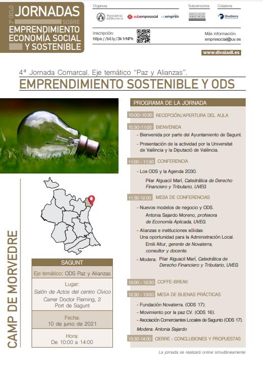 Emprendimiento Sostenible y ODS- Sagunto (Camp de Morvedre)