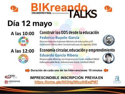 Bikreando talks