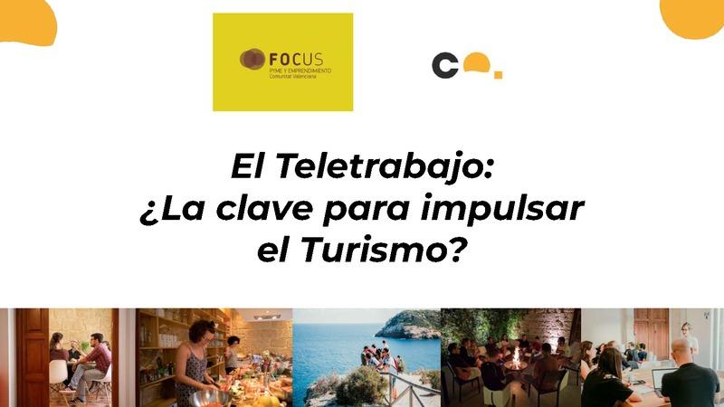 El teletrabajo ¿ la clave para impulsar el turismo?