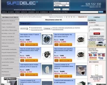 Para comprar mecanismos electricos simon 82 interruptores - Mecanismos electricos baratos ...